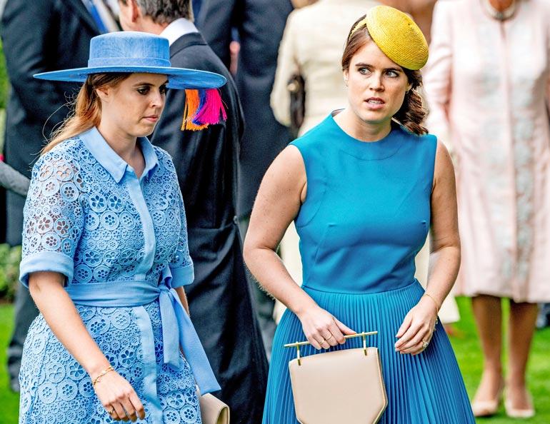 Eugenie on sukunsa sovittelija, mutta Beatricella on vielä jotain hampaankolossa Harrya ja Meghania vastaan.