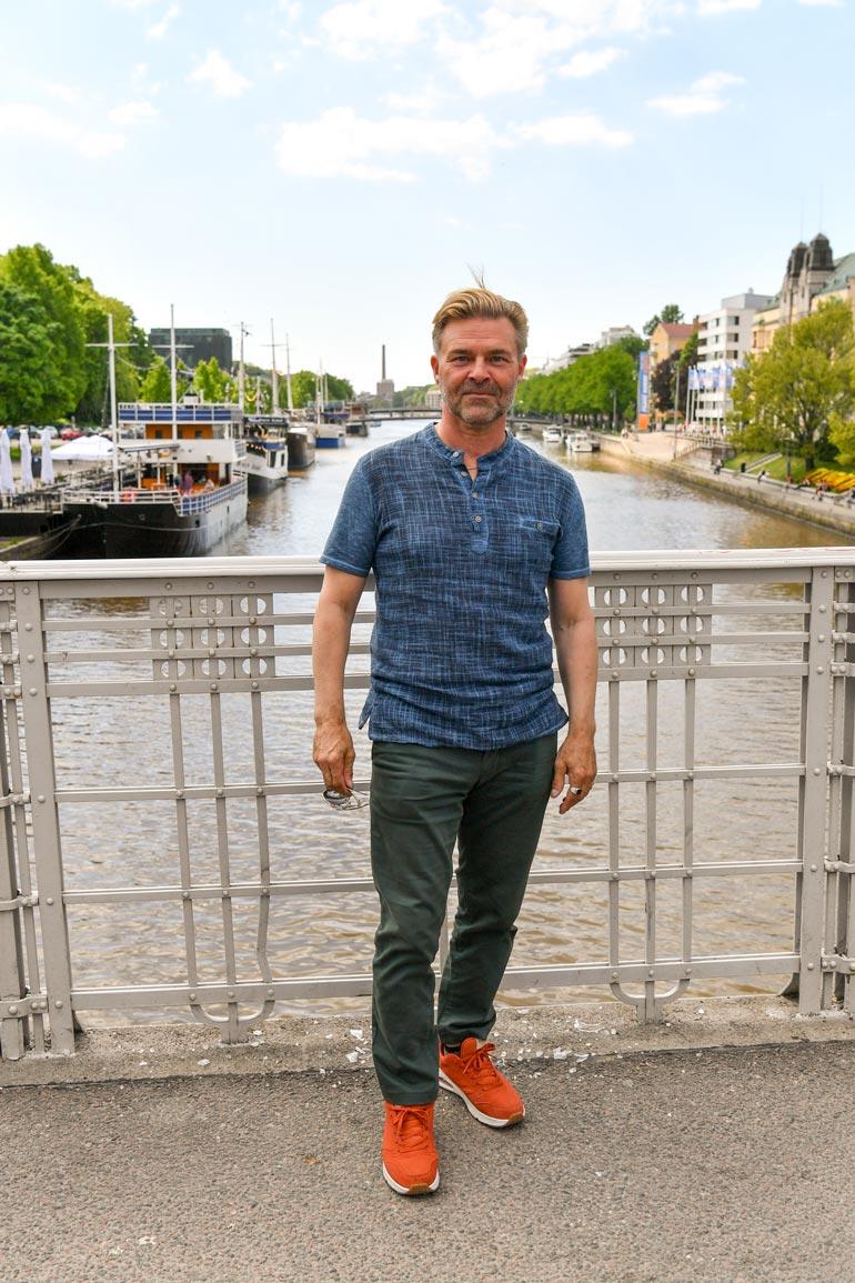 – Turku on iso kaupunki, mutta kuitenkin sopivan kompakti, Ressu sanoo.