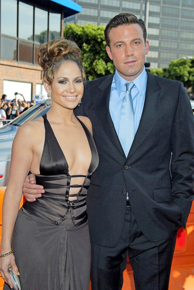 Jennifer ja Ben olivat yhdessä parisen vuotta vuosituhannen alussa.