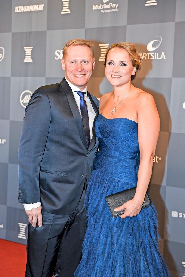 Jarkko on ollut naimisissa Sanna-vaimonsa kanssa jo 11 vuotta..