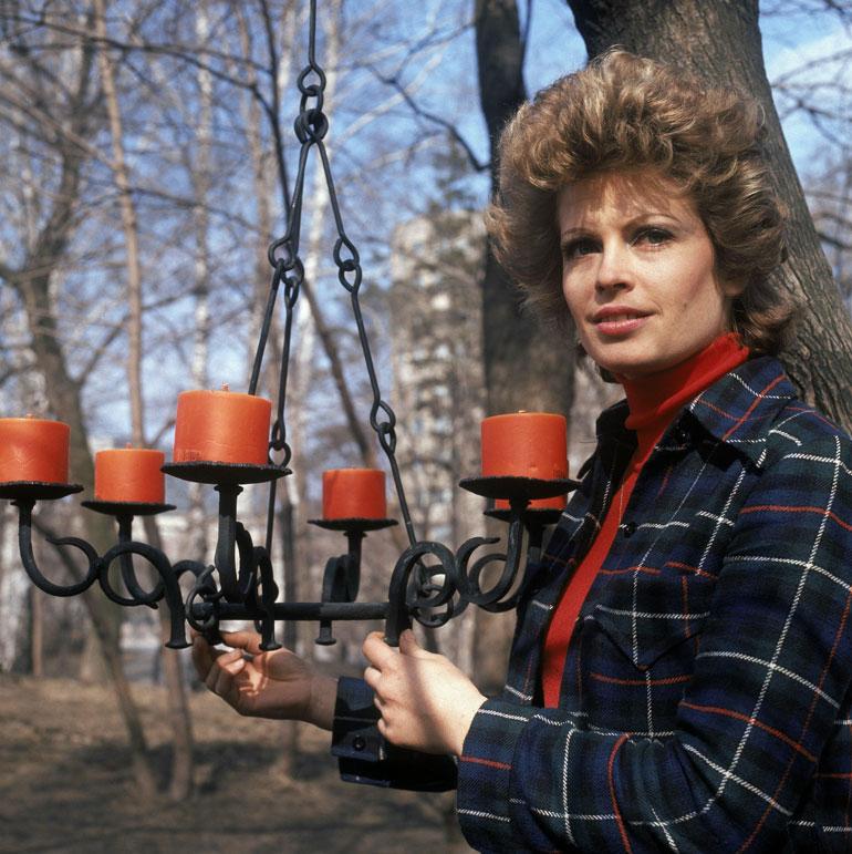 Leena Brusiin vuonna 1974.