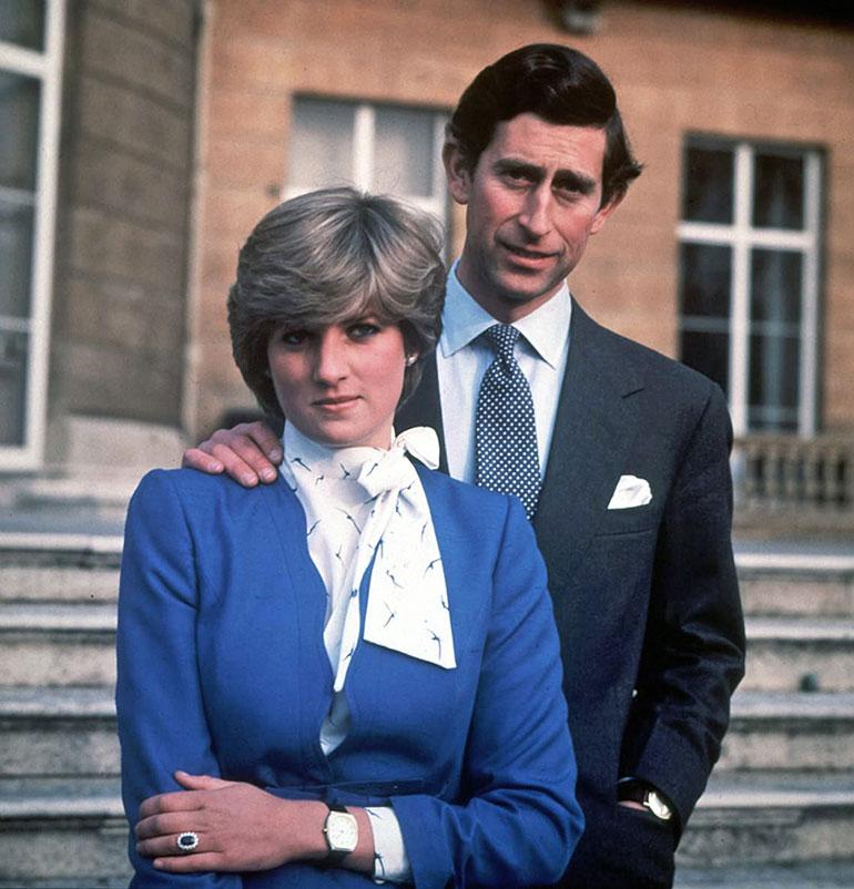 Prinssi Charlesin ja prinsessa Dianan kihlajaiset