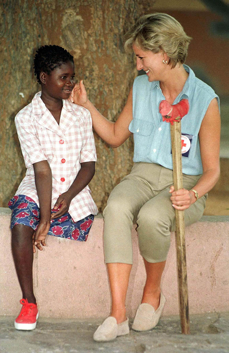 Prinsessa Diana ja Sandra