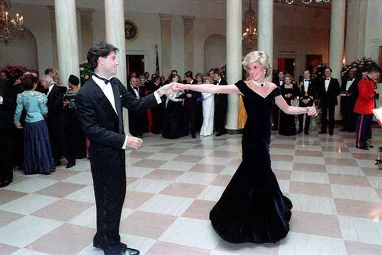 Prinsessa Diana ja John Travolta