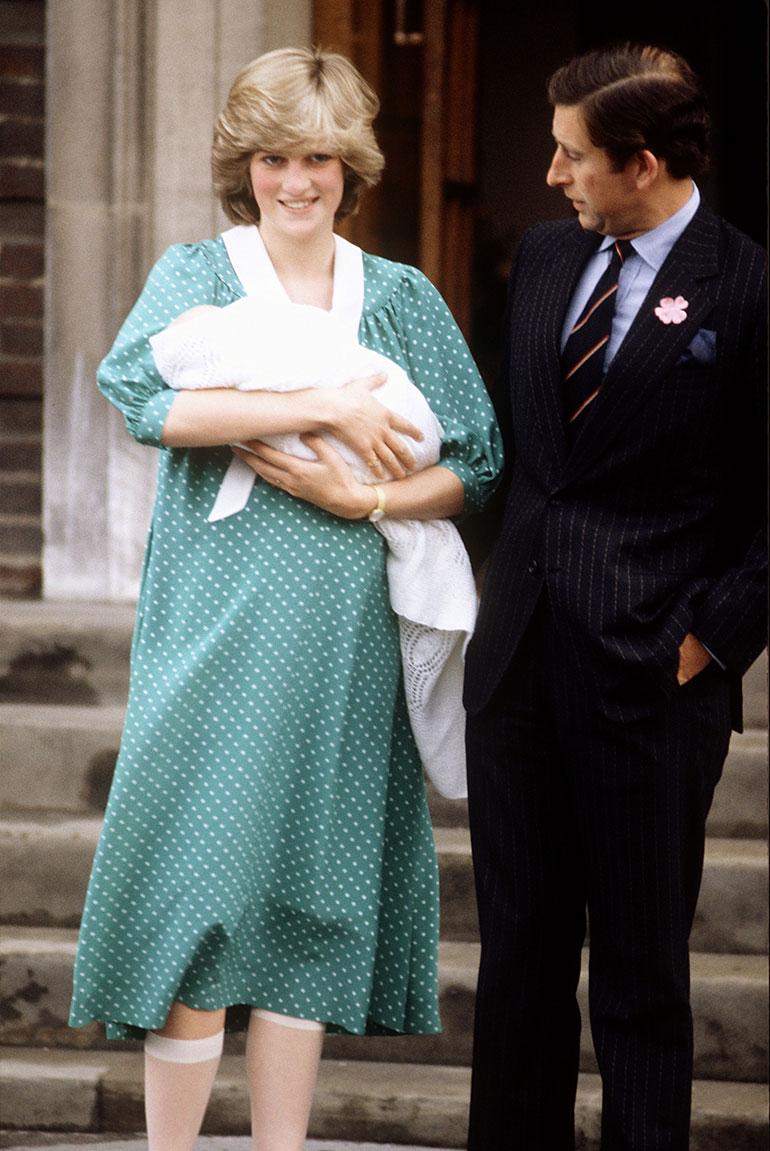 Prinssi Charles, prinsessa Diana ja prinssi William