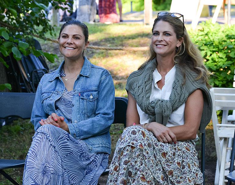 Prinsessa Madeleine ja kruununprinsessa Victoria