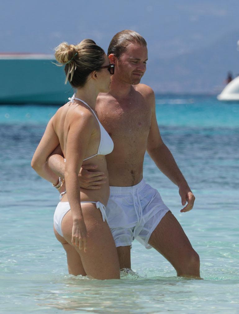 Nico ja Vivian Rosberg