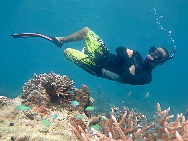 Miio on toipumisvuosinaan viihtynyt talvisin Aasiassa, etenkin Thaimaassa ystäviensä ja sukellusporukoiden kanssa.