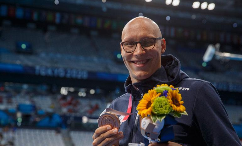 Matti Mattsson on tuore olympiamitalisti.