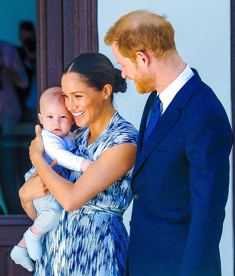 Sussexin herttuapari Harry ja Meghan ja Archie