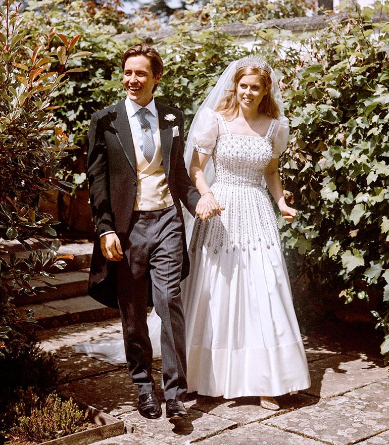 Prinsessa Beatrie ja Edoardo Mapelli Mozzi