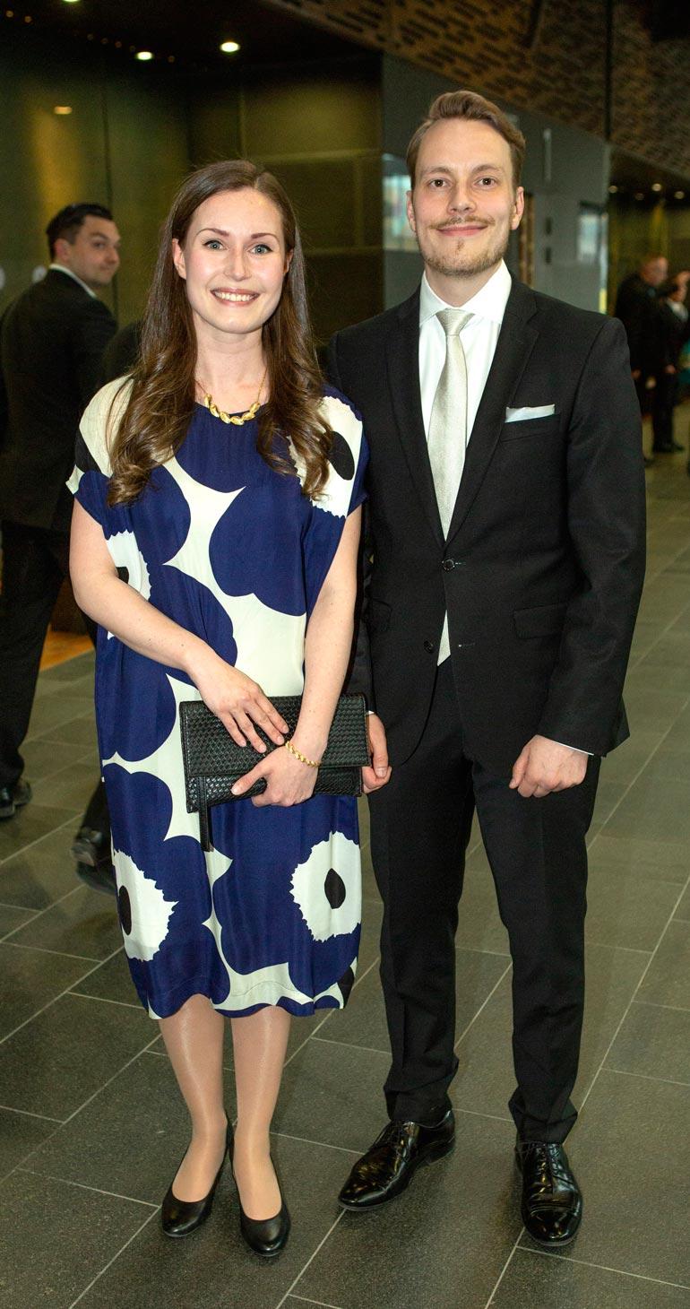 Sanna Marin ja hänen puolisonsa Markus Räikkönen ovat olleet yhdessä lähes koko aikuisikänsä.
