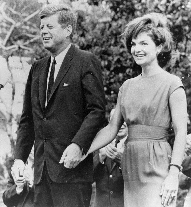 Näissä kartanomaisemissa John F. Kennedy  lempi nuorikkoaan Jackieta