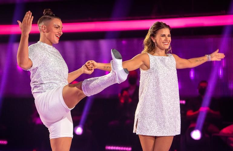 Elina ja Ansku tanssivat kauden neljännessä jaksossa Whitney Houstonin tahtiin.