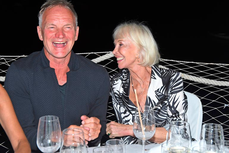 Sting ja Trudie