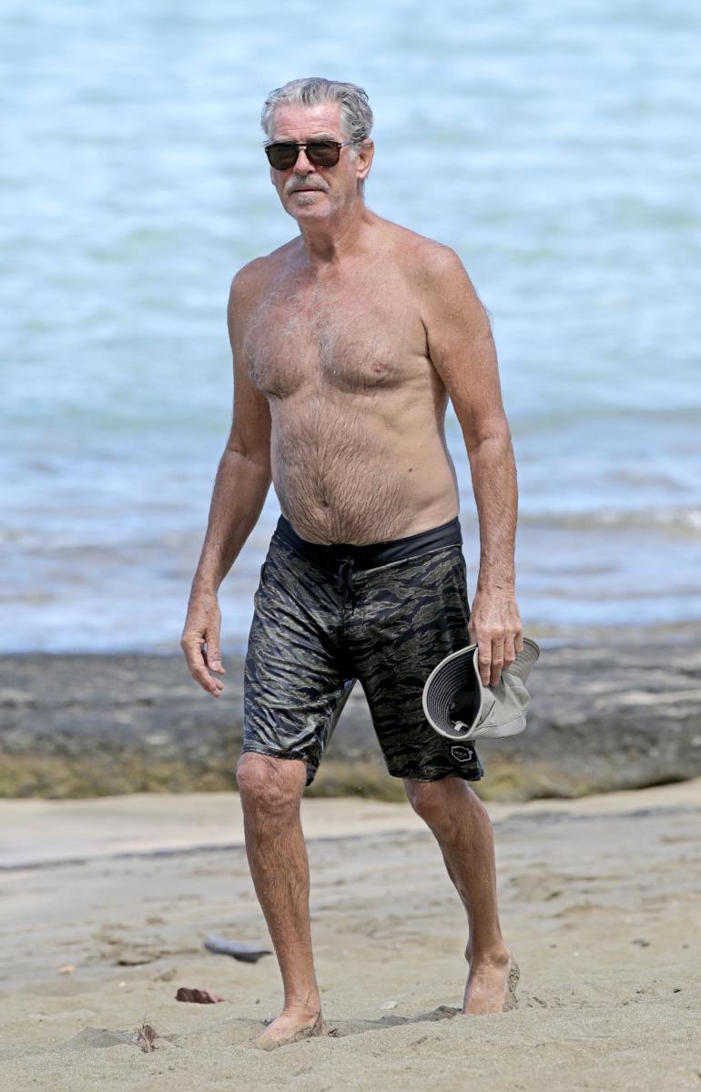 James Bondia 90-luvulla näytellyt Pierce on vanhentunut erittäin tyylikkäästi.