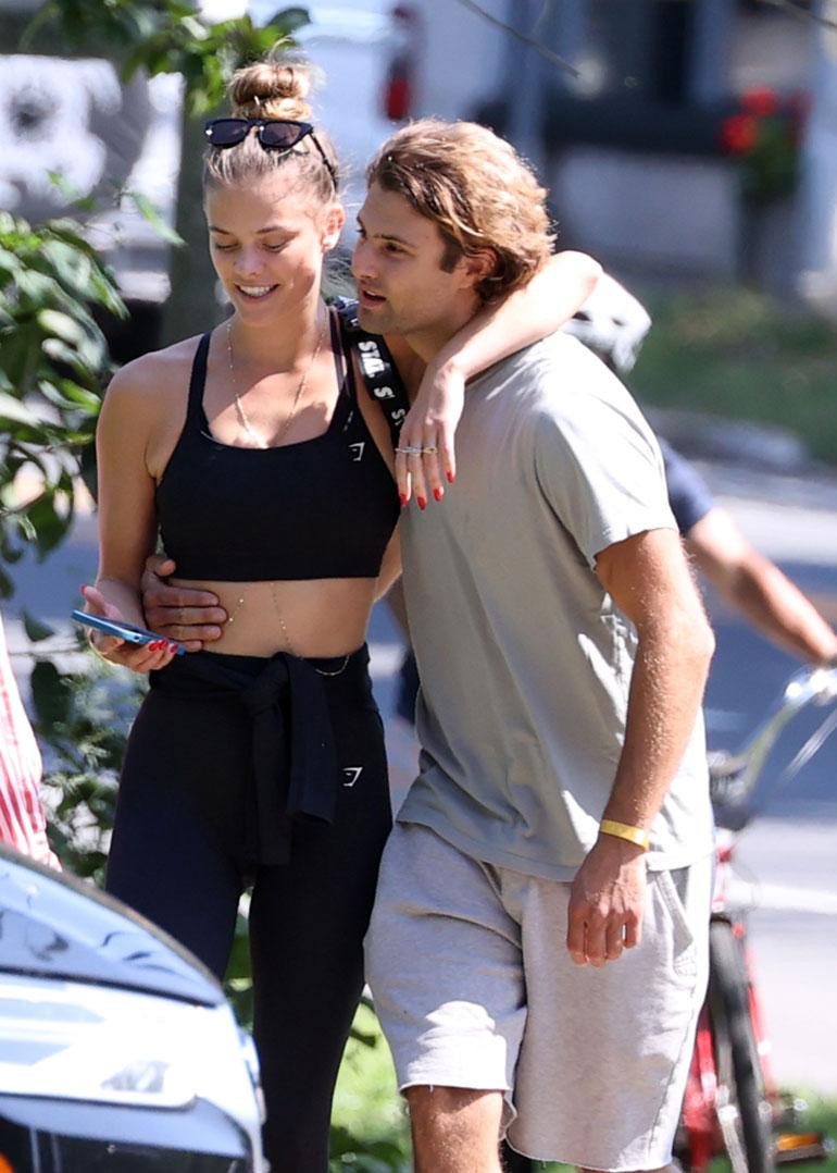 Nina ja Jack kuvattiin yhdessä syyskuun alussa New Yorkissa.