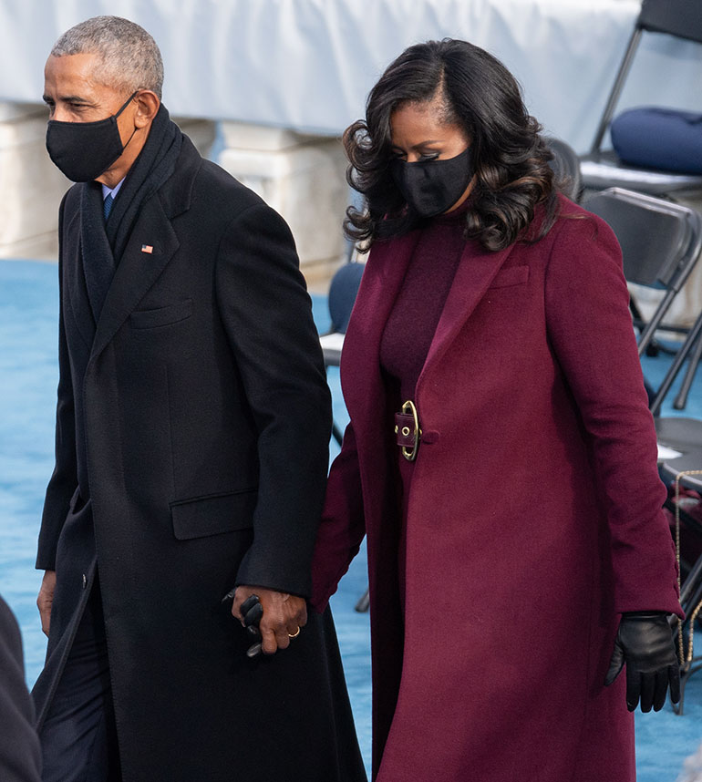 Barack ja Michelle Obama