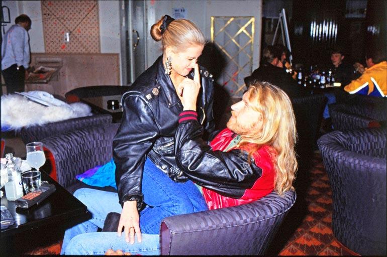 Tarja ja Renny seurustelivat muutaman kuukauden vuonna 1993.