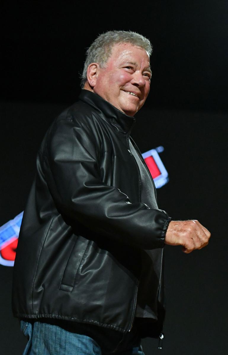 Shatner viikko sitten Comic Con -tapahtumassa New Yorkissa.