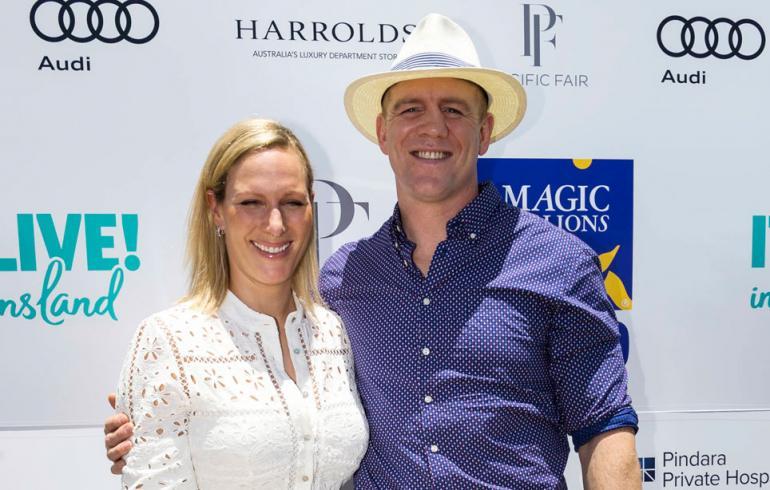 Zara ja Mike Tindall Australiassa