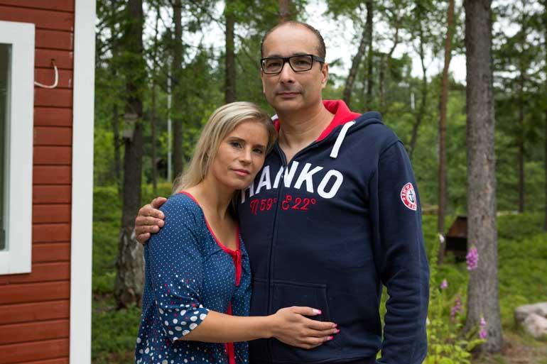 Hanna Kärpänen ja Heikki Lampela.