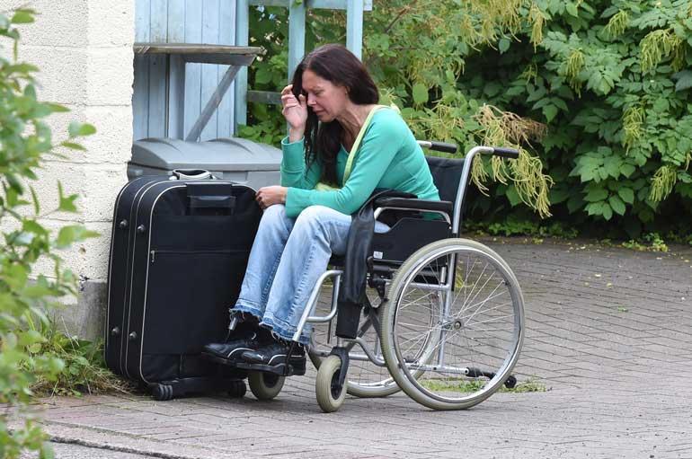 Minna Turunen joutui kodittomaksi.