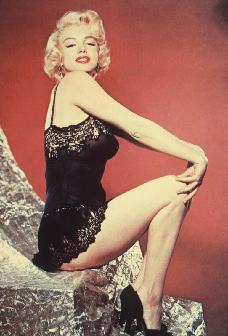 Marilyn on toivotuin seksinuken malli.