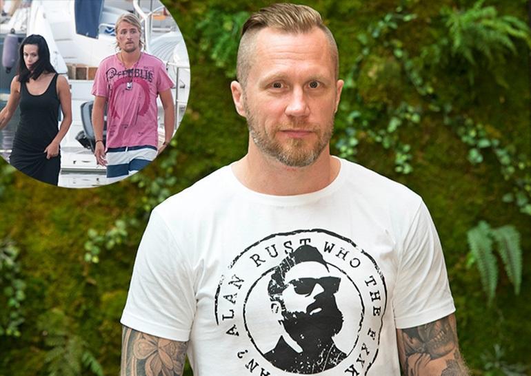 Hannes Hyvönen oli hyvää pataa Stefanin kanssa.