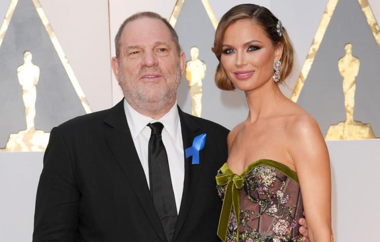Harvey Weinstein ja Georgina Chapman