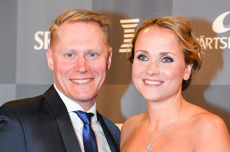 Jarkko Tamminen ja Sanna-vaimo ostivat kattohuoneiston.