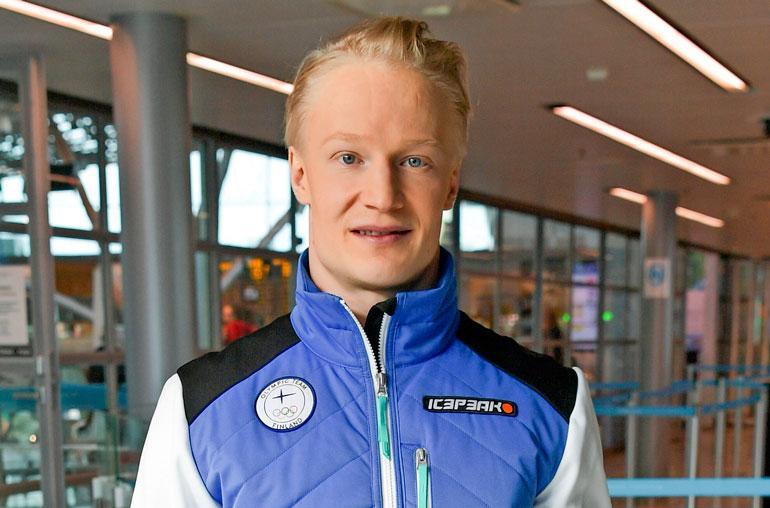 Peetu Piiroinen tähtää olympialaisiin.
