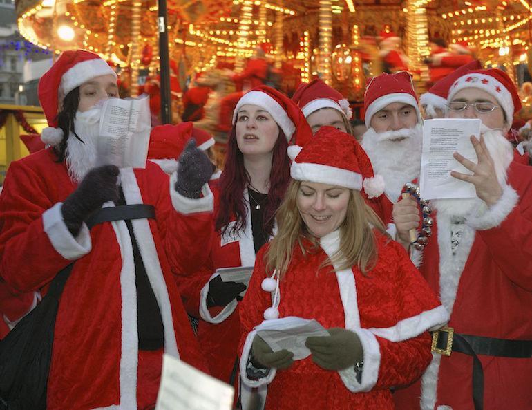 Kaikki eivät pidä joululauluista.