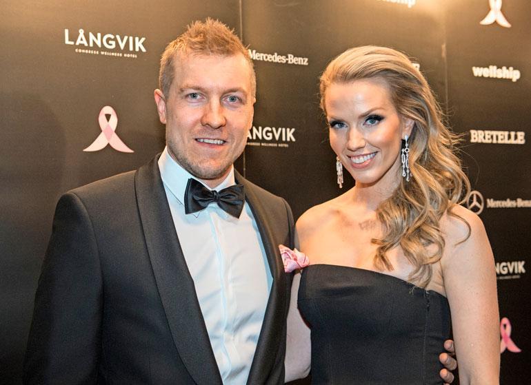 Niklas Hagman on koti-isä.