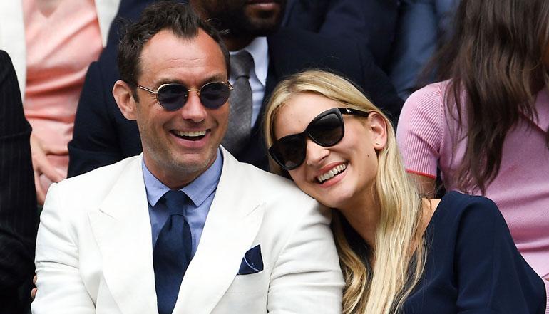 Jude Law seurustelee Phillipa Coanin kanssa.