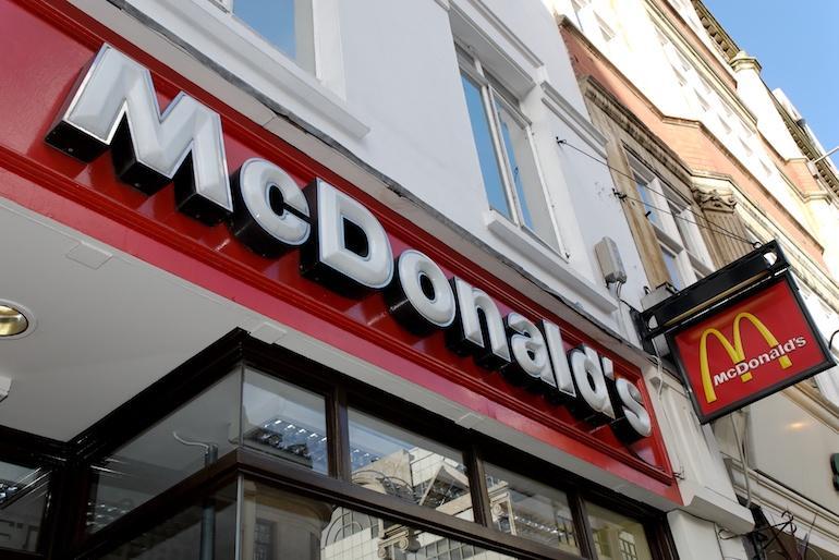 McDonald's esitti lapsille sopimatonta materiaalia.