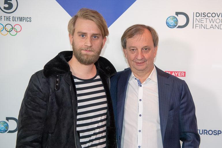 Hjallis piti Joel-poikansa pimennossa Liike Nyt -hankkeessa.