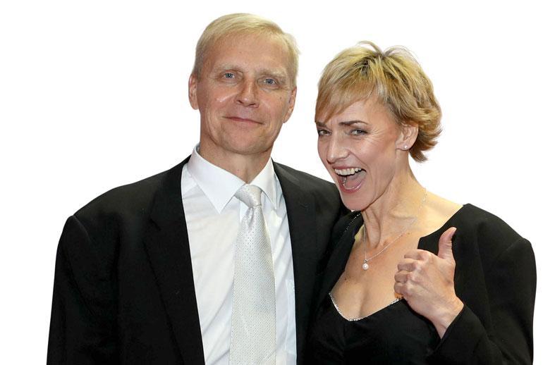 Arto Bryggare ja Heike Drechsler muutivat Suomeen.
