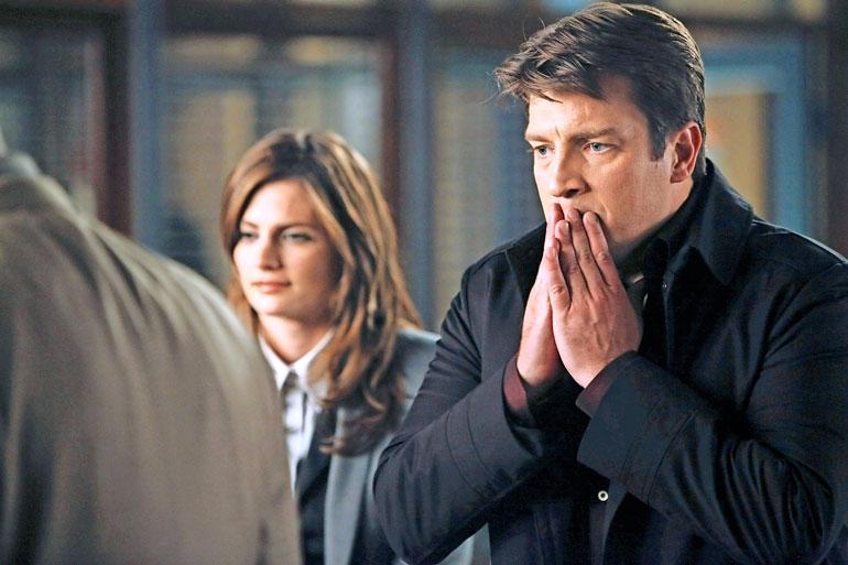 Castle sarjassa seurataan rikoskirjailijan tutkimuksia.
