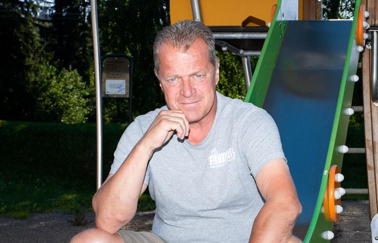 Jukka Laaksonen pitää työtään yksinäisenä.