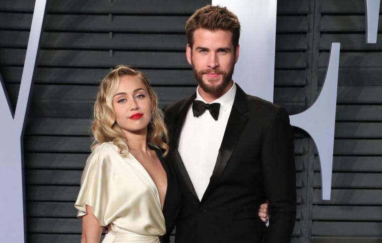 Miley Cyrus ja Liam Hemsworth