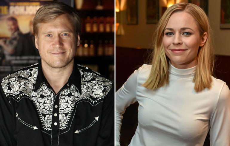 Samuli Edelmann ja Paula Vesala