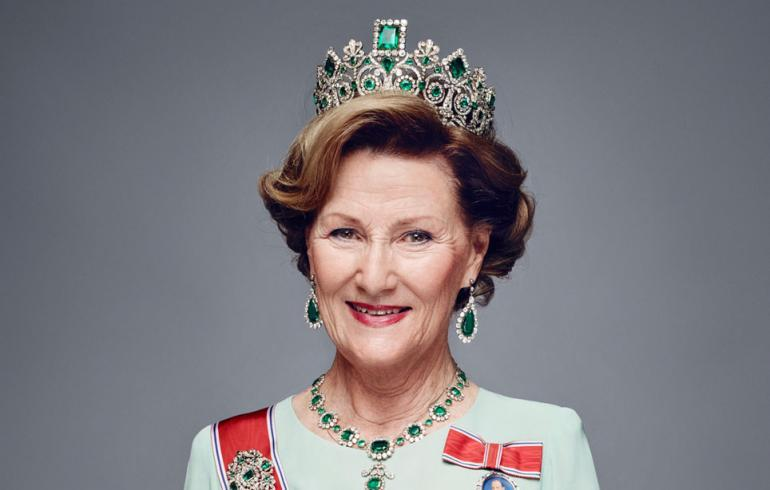 Kuningatar Sonja juhli vaatimattomasti.