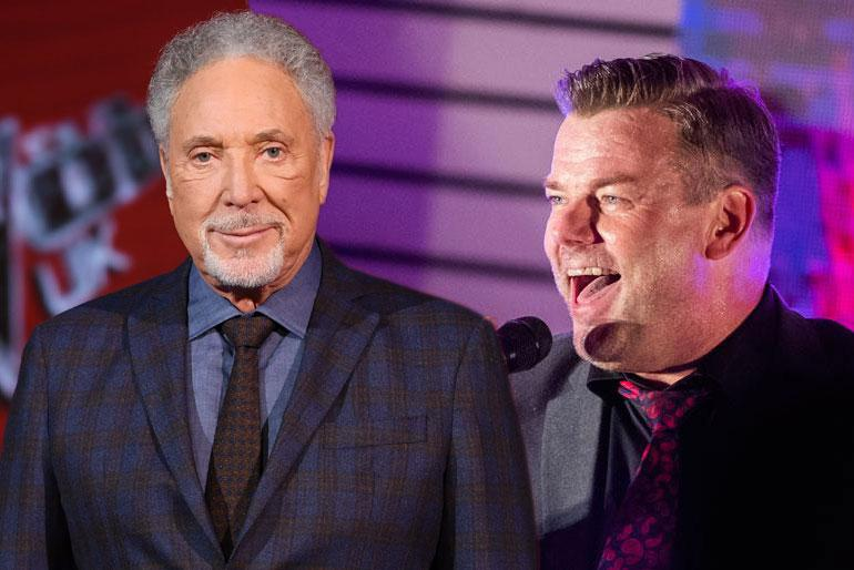 Tom Jones ja Jari Sillanpää