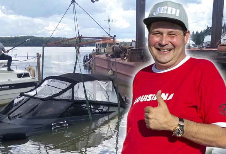 Jethro Rostedtin vene upposi