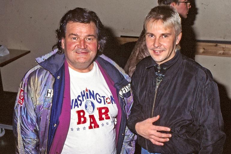 Mike Sierra tunnettiin Matti Nykäsen managerina.