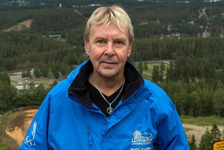 Matti Nykänen.