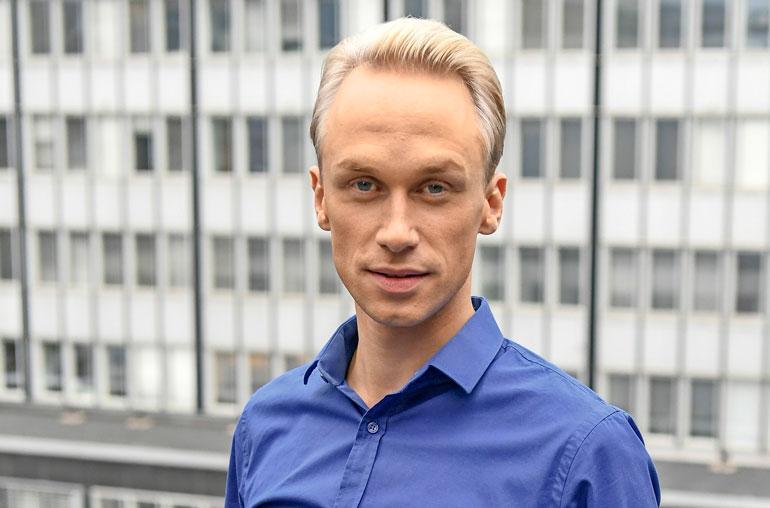 Christoffer Standberg on uusi Putous-tähti.