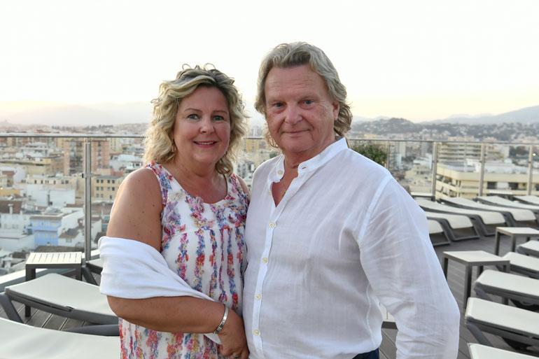 Pepe Willberg ja Pauliina Visuri lomailivat Espanjassa.