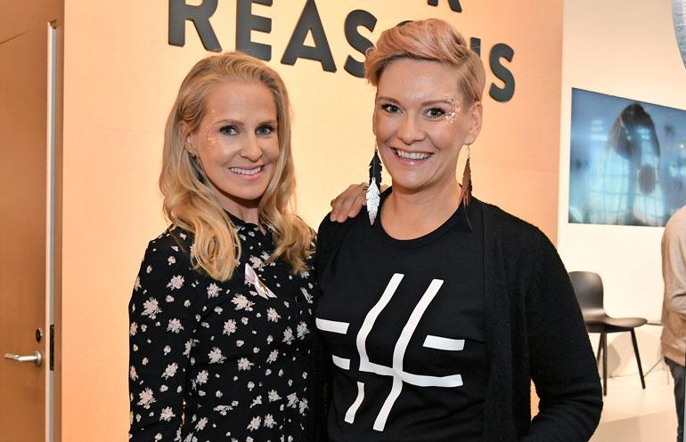 Heidi Sohlberg sai tukea Joanna Kuvajalta.